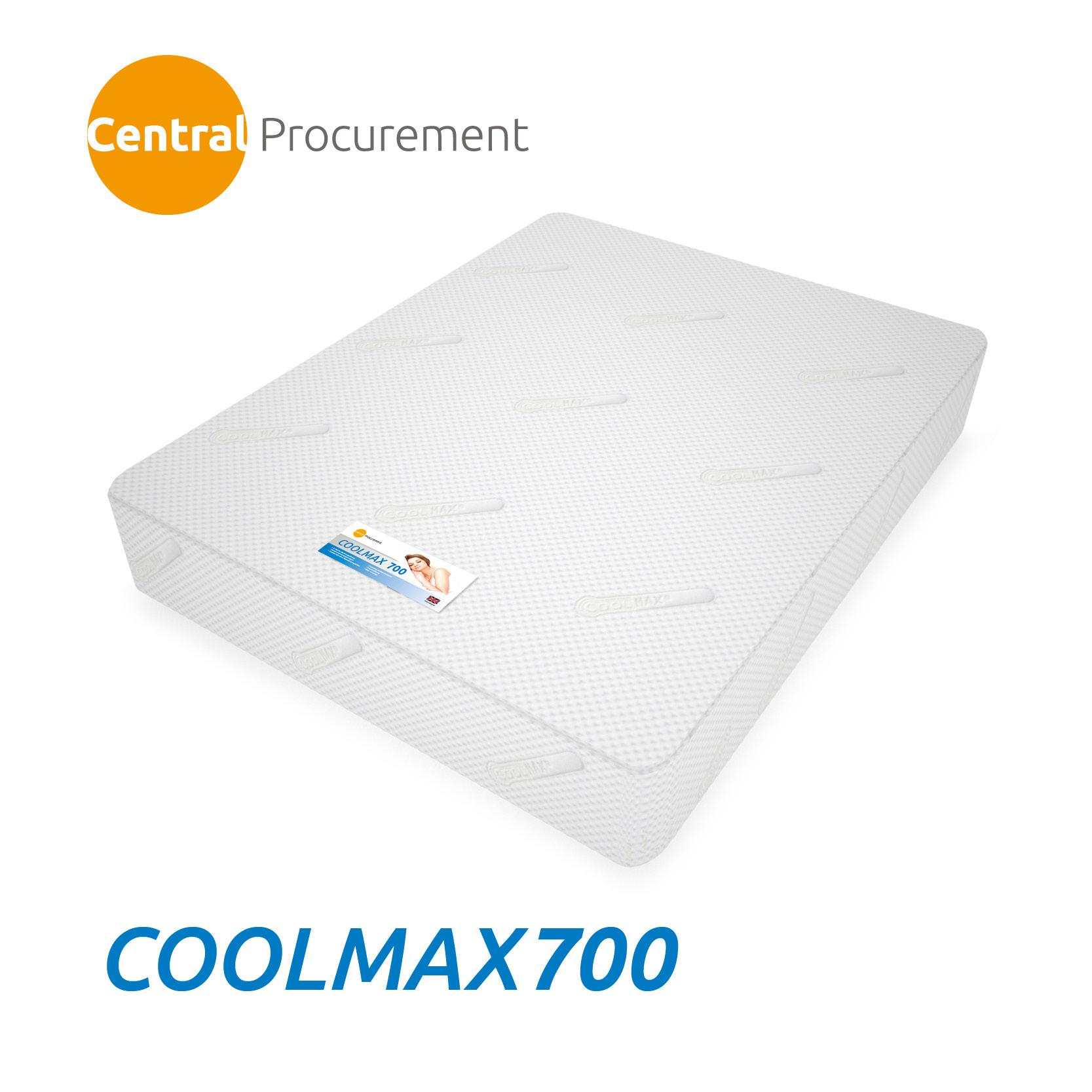 Coolmax 700 Tm Memory Foam Mattresses