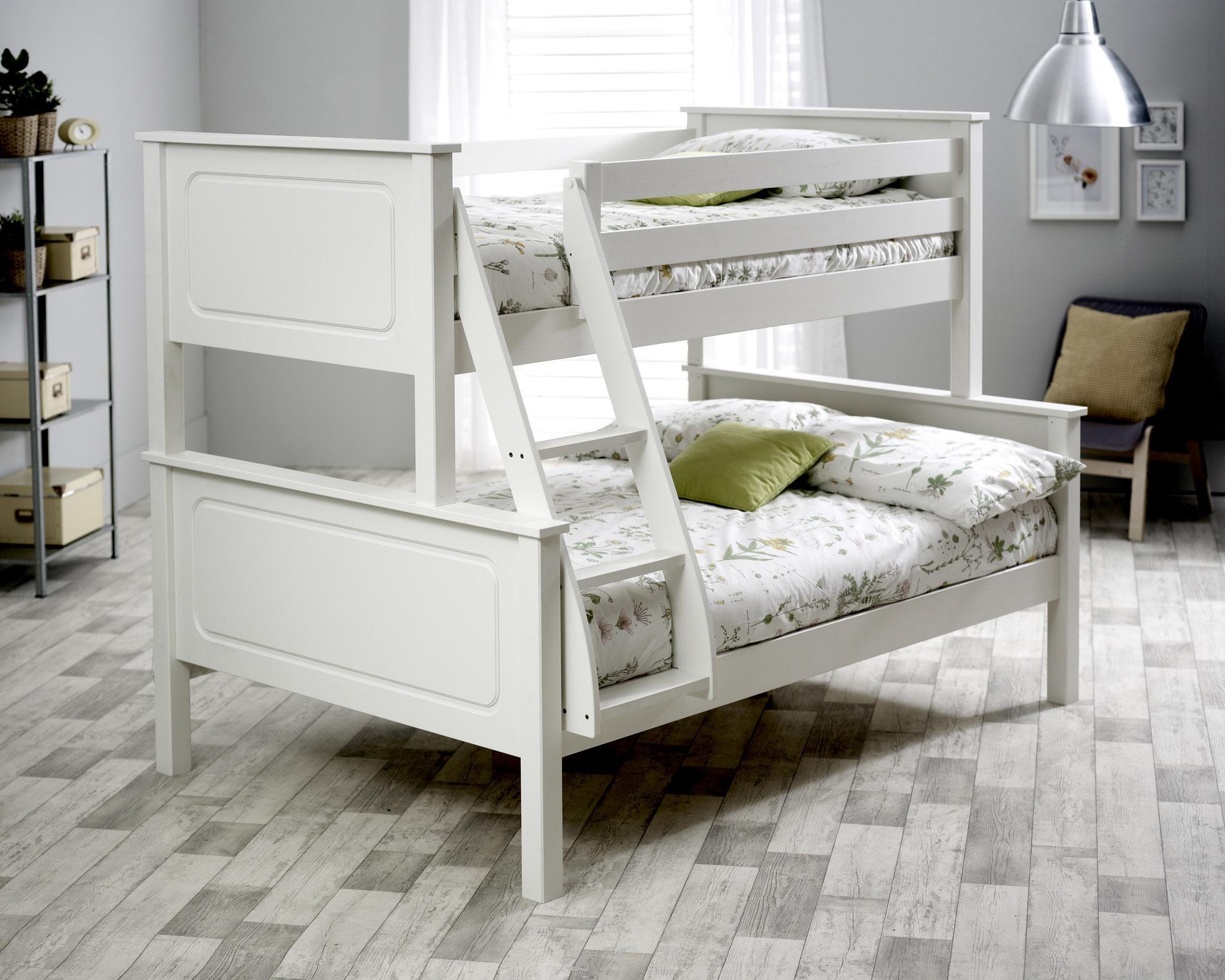 e0b38e8f9caf Ashley White/Grey Triple Bunk Bed