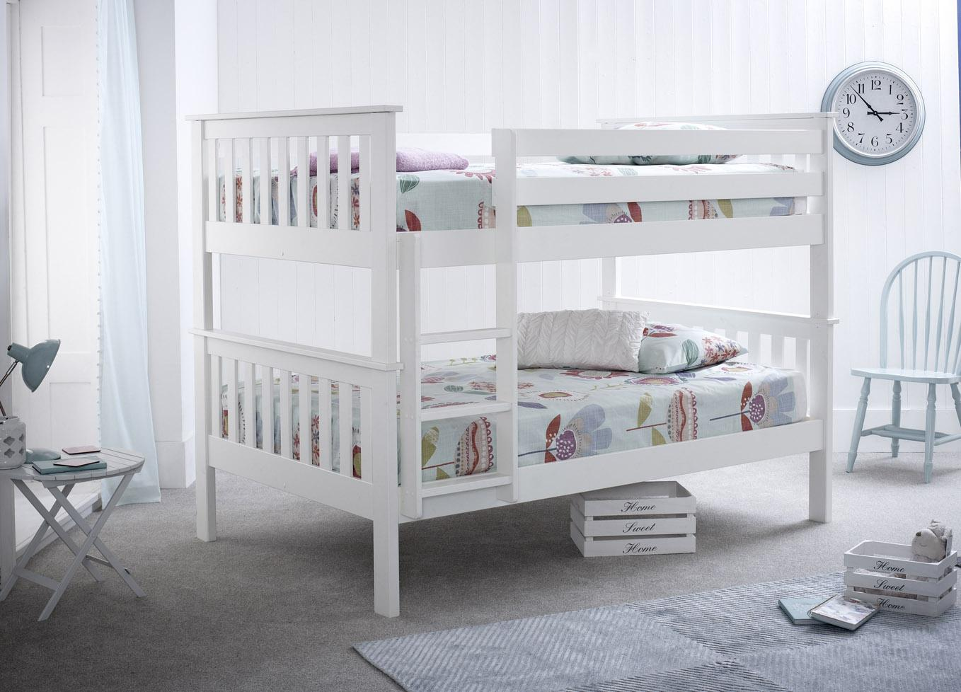 Picture of: Oslo 4ft Over 4ft Bunk Bed