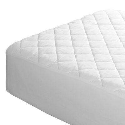 Double Waterproof Quilted Fitted Mattress Protector